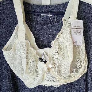 Cream Lace Bra size 38F